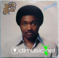 Randy Brown - Intimately LP - 1979
