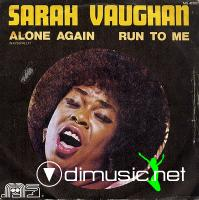 "Sarah Vaughan - Alone Again/Run To Me - 7"" - 1972"