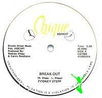 Rodney Stepp - Break-Out - 12 Inches - 1984
