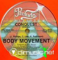 Conquest - Body Movement - 12 Inches - 1982