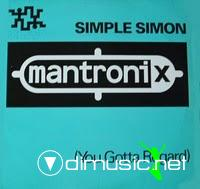 Mantronix - Simple Simon (You Gotta Regard) - 12