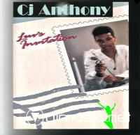 CJ Anthony - Luv's Invitation LP - 1989