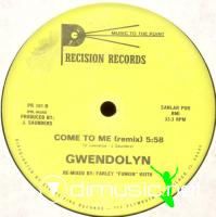 "Gwendolyn - Come To Me - 12"" - 1984"