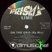 "Lime - On The Grid - 12"" - 1983"