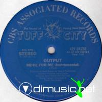 "Output - Move For Me - 12"" - 1983"