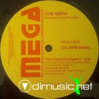 Toni Smith - Can't Stop (This Feelin') - 12
