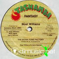 Noel Williams & The Extra Funk Factory - Fantasy - 12