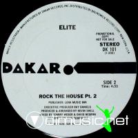 "Elite - Rock The House - 12"" - 1980"