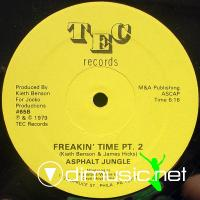 "Asphalt Jungle - Freakin' Time - 12"" - 1979"