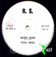 Steel Mind – Boss Man  - Single 12'' - 1982