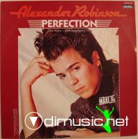 "Alexander Robinson – Perfection (12"" Vinyl - 1986) wav"