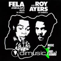 Fela Kuti & Roy Ayers - Music Of Many Colours EP - 1980