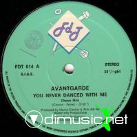 Avantgarde - You Never Danced With Me (Vinyl, 12'') 1985