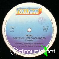 Akaba - Everybody Likes Dancing (Vinyl, 12'') 1983