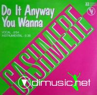 Cashmere - Do It Anyway You Wanna (Vinyl, 12'') 1983