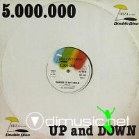 5.000.000 / Nite Club - Where Is My Head / Up And Down (Vinyl, 12'') 1987