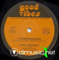 4 M International - Space Operator (Vinyl, 12'') 1982