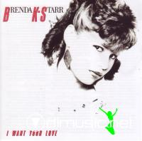 Brenda K-Starr - I Want Your Love LP - 1985 Reissued 2009