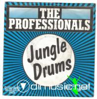 The Professionals - Jungle Drums - Single 7'' - 1981