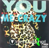 Reflectors – You Drive Me Crazy  - Single 12'' - 1989