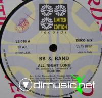 B.B. & Band - All Night Long (Vinyl, 12'') 1987