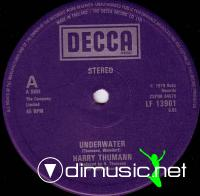 Harry Thumann - Underwater - Single 12'' - 1979