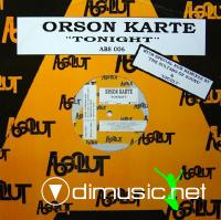 Orson Karte - Tonight - 12