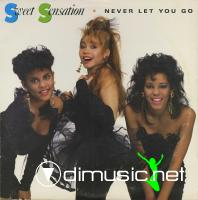 Sweet Sensation - Never Let You Go (7'') 1988 (Very Rare)