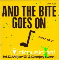 "M.C. Miker ""G"" & Deejay Sven - And The Bite Goes On (12'') 1888"