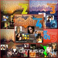 Super Hits 80's  Vol.1-5
