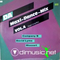 Various – DA-Maxi-Dance-Mix Vol. 4 (1987)