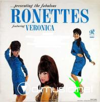 The Ronettes Ft Veronica - Presenting The Fabulous Ronettes LP - 1963