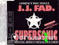 J.J. Fad - Supersonic (Remix) - CDM - 1988