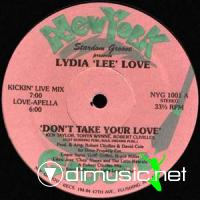 Lydia Lee Love - Don't Take Your Love - 12