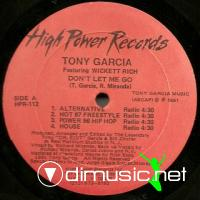 "Tony Garcia & Wickett Rich - Don't Let Me Go - 12"" - 1991"