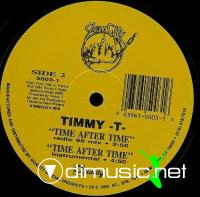 "Timmy T - Time After Time - 12"" - 1986"