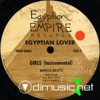 "Egyptian Lover - Dubb Girls - 12"" - 1985"