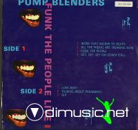 Pump Blendres - Funk The People Live LP - 1985