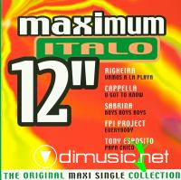 Various - Maximum Italo 12``[2000]