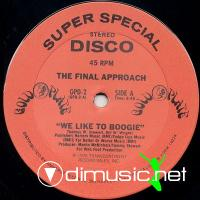 The Final Approach - We Like To Boogie - 12