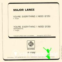 "Major Lance - You're Everything I Need - 7"" - 1975"