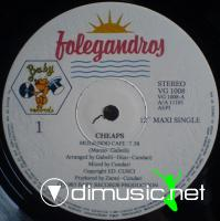 Cheaps – Moliendo Cafe  - Single 12'' - 1983