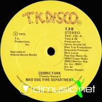 Mad Dog Fire Depatment - Cosmic Funk - 12