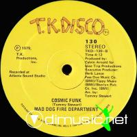 "Mad Dog Fire Depatment - Cosmic Funk - 12"" - 1979"