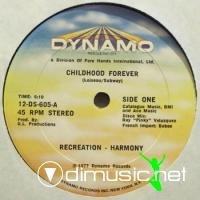 Recreation-Harmony - Childhood Forever/A Chancun Son Enfance - 12