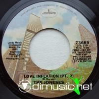"The Joneses - Love Inflation - 7"" - 1975"