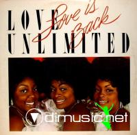 Love Unlimited - Love Is Back LP - 1979