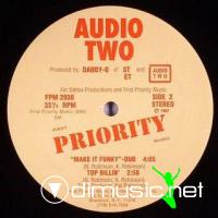 """Audio Two - Make It Funky - 12"""" - 1987"""