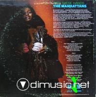 The Manhattans - With These Hands LP - 1970 Reissued 1995
