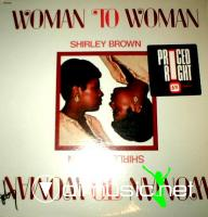 Shirley Brown - Woman To Woman LP - 1974